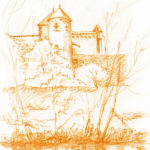 dessin Abbaye-Gorges