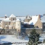 Photo Abbaye sous la neige