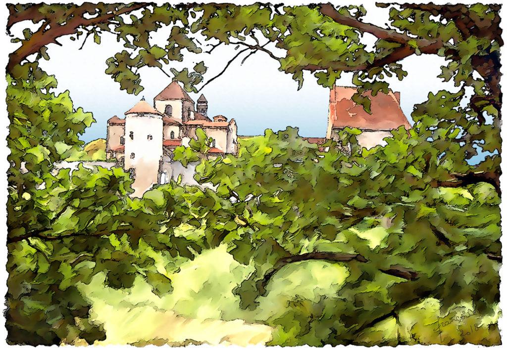 aquarelle Abbaye1