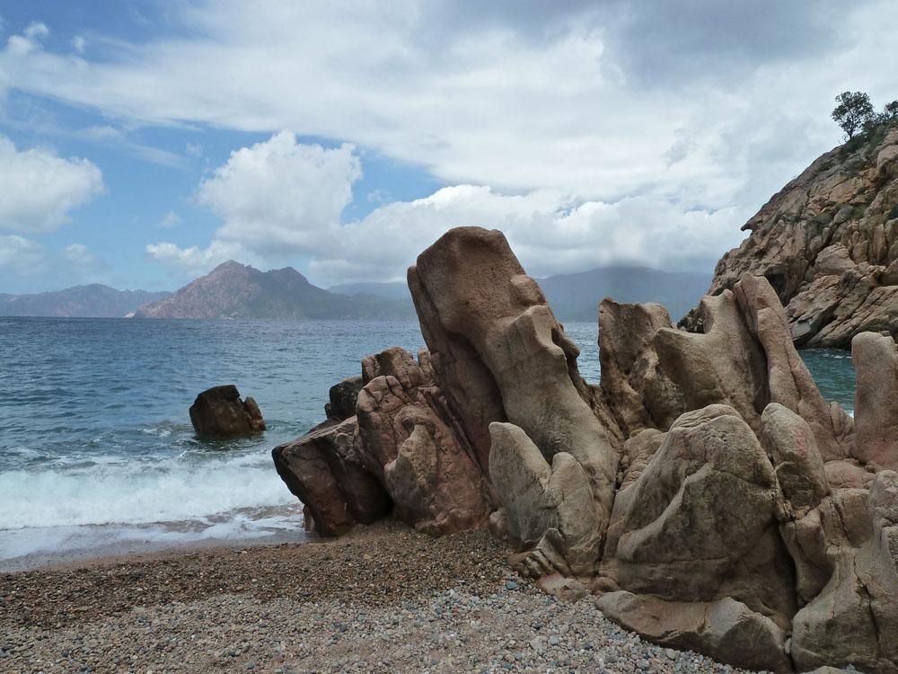 Corse rochers